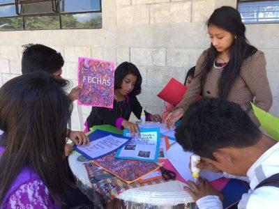 Guatemala Students at work